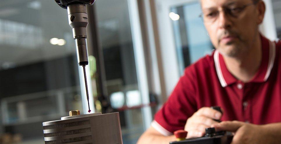 Controllo qualità - TCN Mechanical Machining S.r.l.